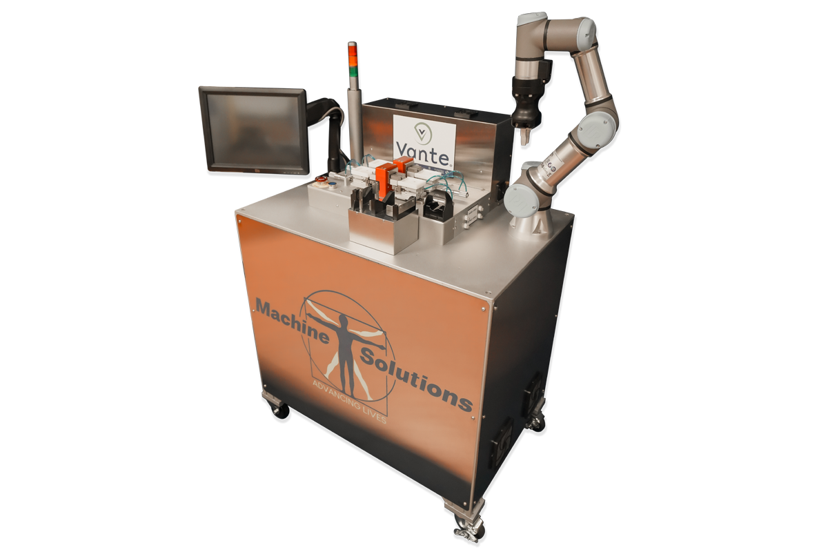 Automated Catheter Tipping Machine